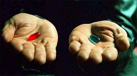 You take the blue pill, you go back to playing rules as written. You take the red pill, you stay in Wonderland and I show you my 300 page work in progress to convert Rifts to a d10 system.