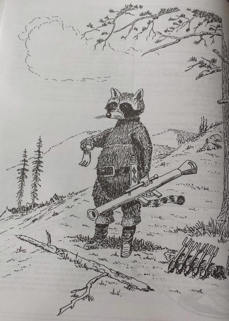 Bazooka Raccoon