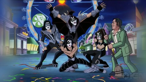 Scooby and Kiss