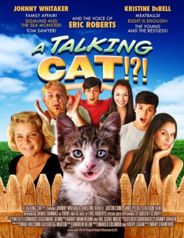 talking cat poster