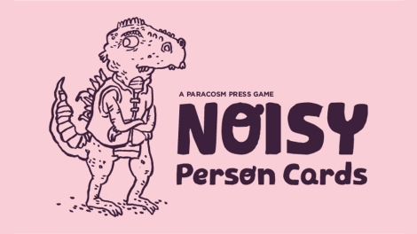 Noisy Person Cards L