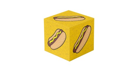 hot-dog-cube
