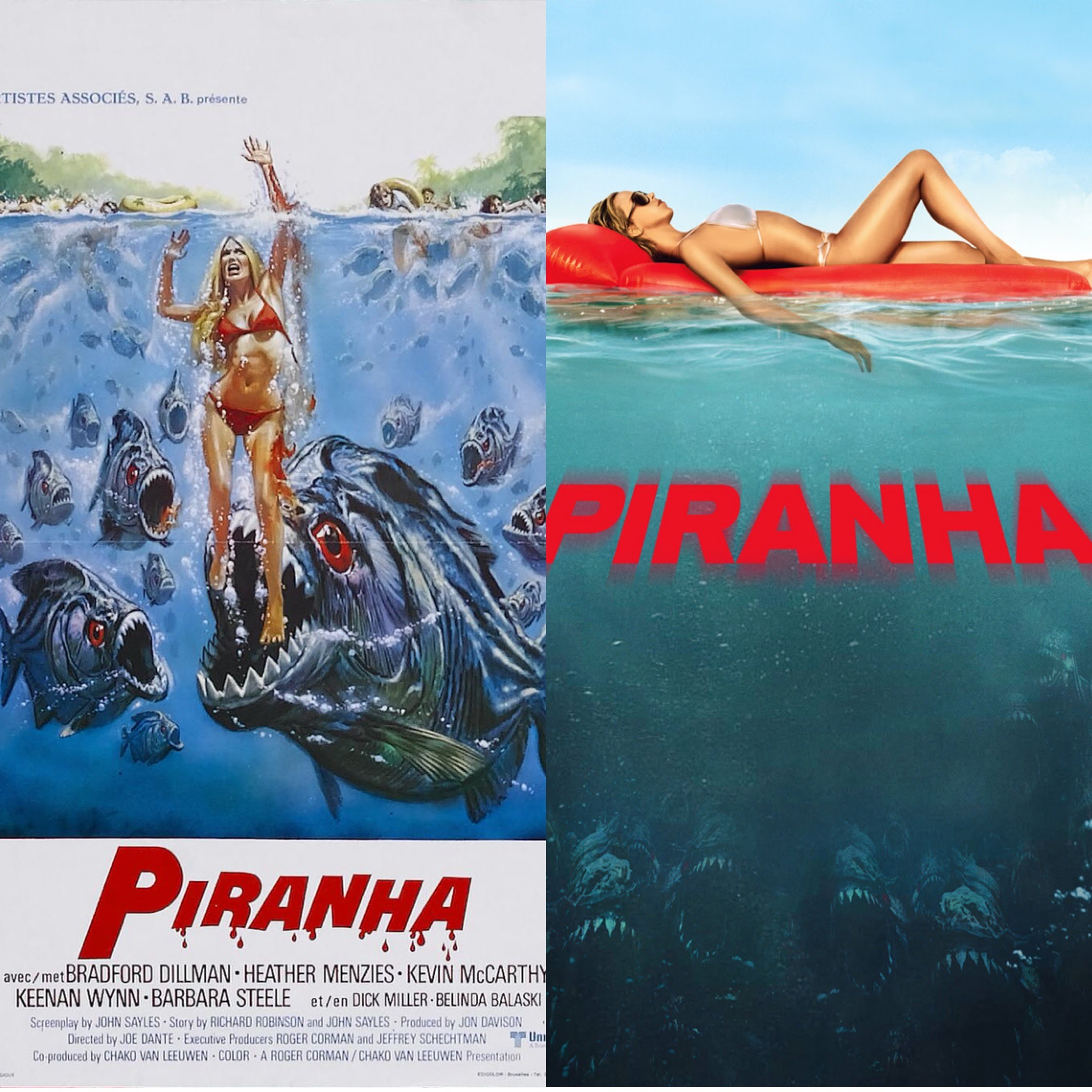 Horrortoberfest '18 Day 20 & 21: Piranha (1987) & Piranha (2010
