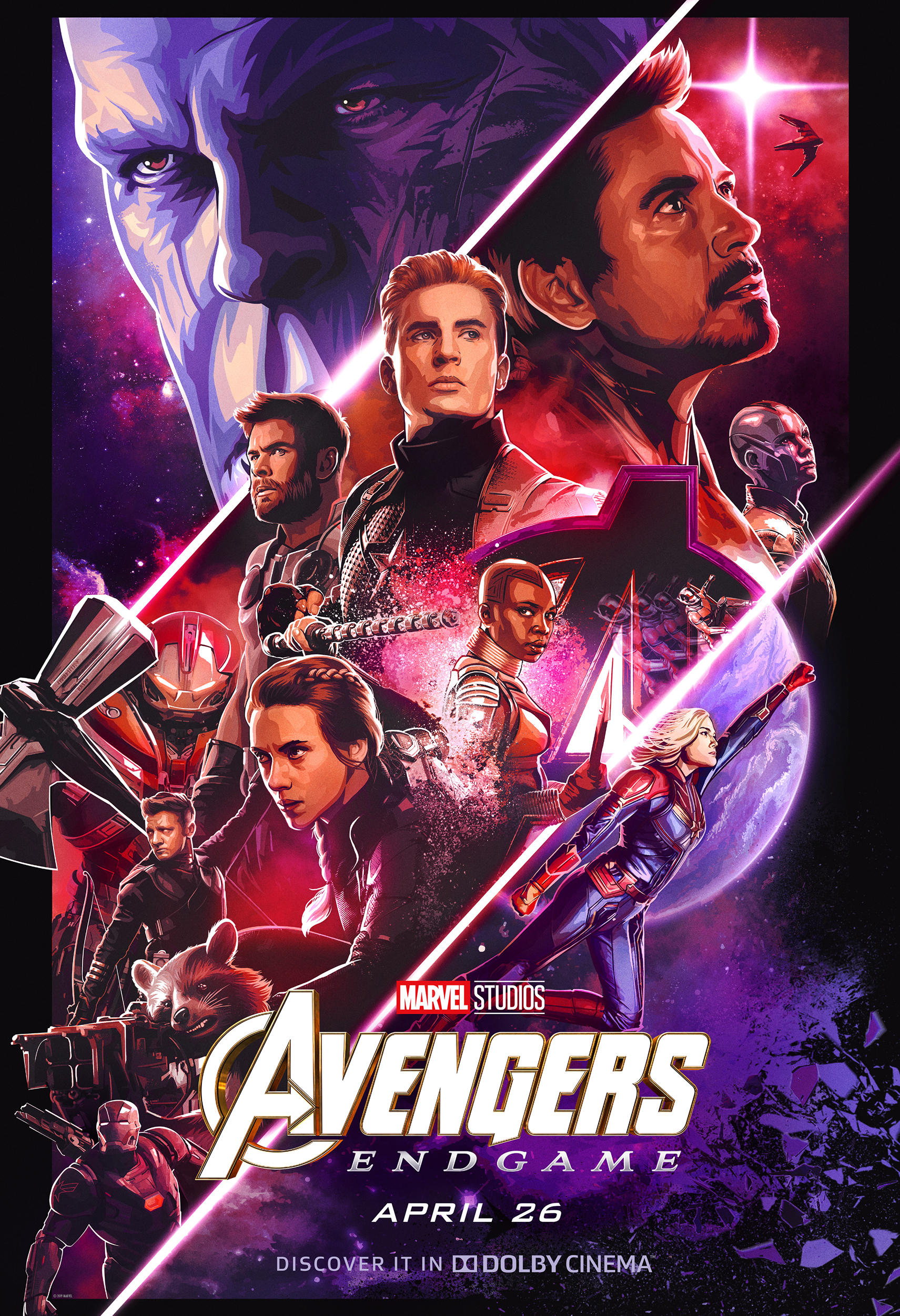 In Theaters Now Avengers Endgame System Mastery